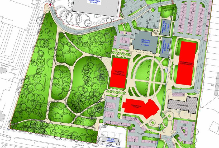 Elwood Landscape Design | College Redevelopment, West ...