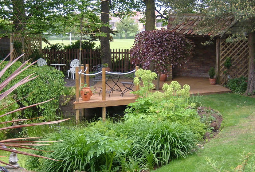 Elwood landscape design private domestic garden case for Landscape design suffolk